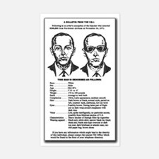 D B Cooper's Rectangle Decal