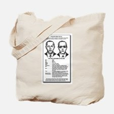 D B Cooper's  Tote Bag