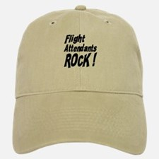 Flight Attendants Rock ! Baseball Baseball Cap