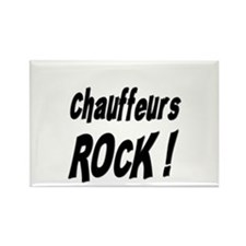 Chauffeurs Rock ! Rectangle Magnet