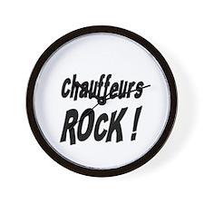 Chauffeurs Rock ! Wall Clock