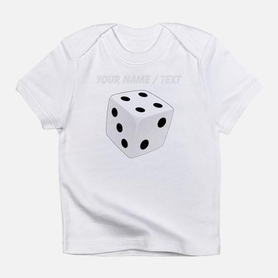 Custom White Playing Dice Infant T-Shirt
