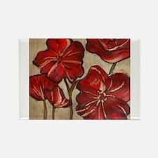 Red Poppy Art Magnets