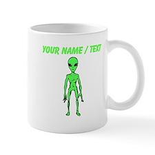 Custom Green Alien Mugs