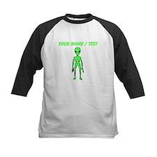 Custom Green Alien Baseball Jersey