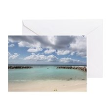 De Palm Island Greeting Card