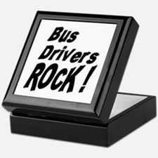 Bus Drivers Rock ! Keepsake Box
