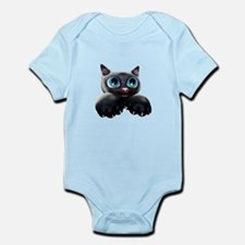Kitty Cartoon Blue Eyes 3D Body Suit