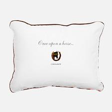 Horse Theme Design #4600 Rectangular Canvas Pillow