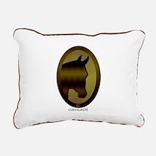 Horse Theme Design #4009 Rectangular Canvas Pillow
