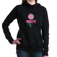 Flower Mommy To Be Hooded Sweatshirt