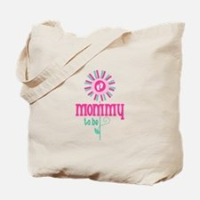 Flower Mommy To Be Tote Bag
