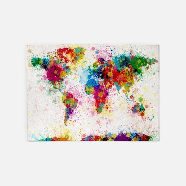 World Map Duvet Covers, Pillow Cases