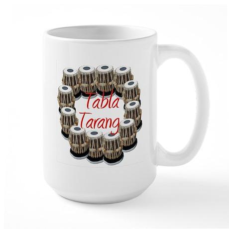 Tabla Tarang Large Mug