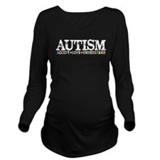 Autism Long Sleeve Maternity T-Shirt