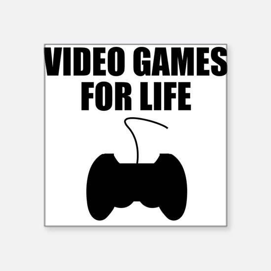 Video Games For Life Sticker