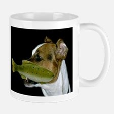 Jack Russell Terrier Fishing Mugs