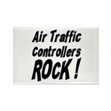 Air Controllers Rock ! Rectangle Magnet