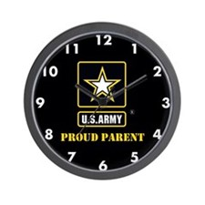 U.S. Army Proud Parent Wall Clock