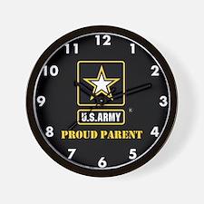 U.S. Army Proud Parent Wall Clock