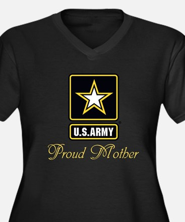 U.S. Army Proud Mother Plus Size T-Shirt
