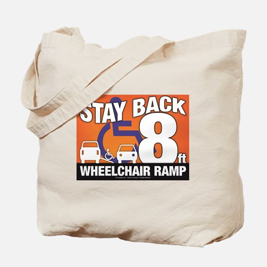 Cute Wheelchair Tote Bag