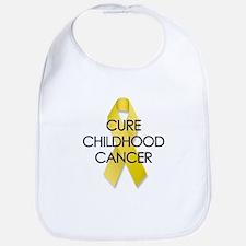 Cure Childhood Cancer/Gold Ribbon Bib