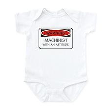 Attitude Machinist Infant Bodysuit