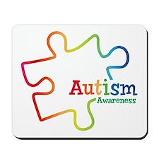 Rainbow Gradient Autism Mousepad