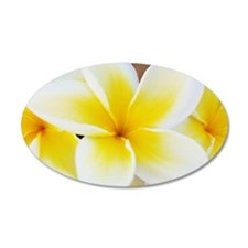 Plumeria Wall Decal