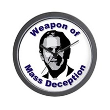 Weapon of Mass Deception Wall Clock