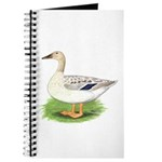 Snowy Mallard Hen Journal