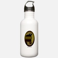 Horse Theme Design #40 Sports Water Bottle