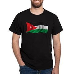 Wavy Jordan Flag T-Shirt