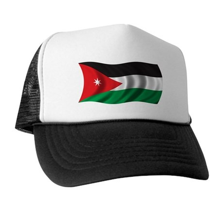 Wavy Jordan Flag Trucker Hat