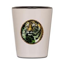 Jungle Tiger Shot Glass