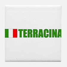 Terracina, Italy Tile Coaster
