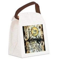 Eyes of the Sun Canvas Lunch Bag
