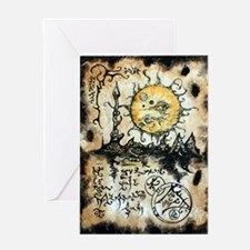 Eyes of the Sun Greeting Card