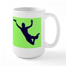 GREEN BLUE DISC CATCH Mugs