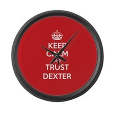 Trust Dexter Large Wall Clock
