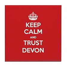 Trust Devon Tile Coaster