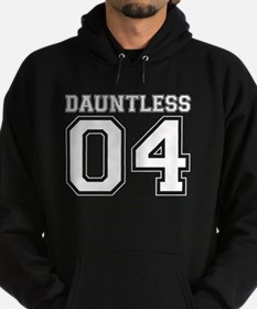 Dauntless 04 on Black Hoodie