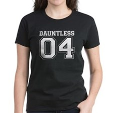 Dauntless 04 on Black T-Shirt