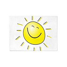 Smiling Sun 5'x7'Area Rug