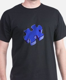 Puzzle Piece 2.1 Blue T-Shirt