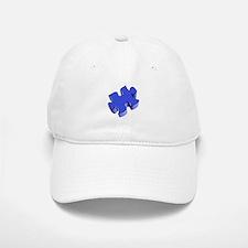 Puzzle Piece 2.1 Blue Baseball Baseball Cap