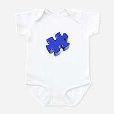 Puzzle Piece 2.1 Blue Infant Bodysuit