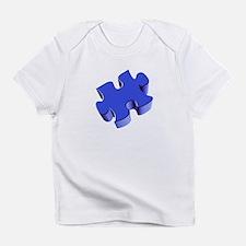 Puzzle Piece 2.1 Blue Infant T-Shirt