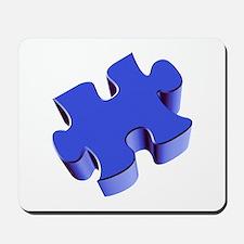 Puzzle Piece 2.1 Blue Mousepad